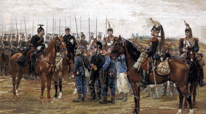 Генрих Леер. Франко-прусская война