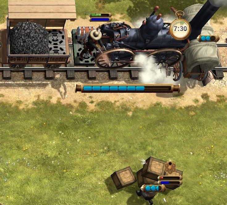 Игра Bounty Train скриншоты