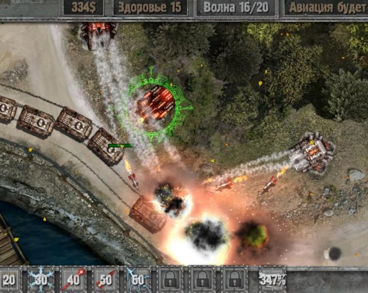 Обзор игры defense zone 2