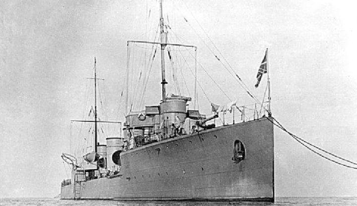 Балтийский флот первая мировая война