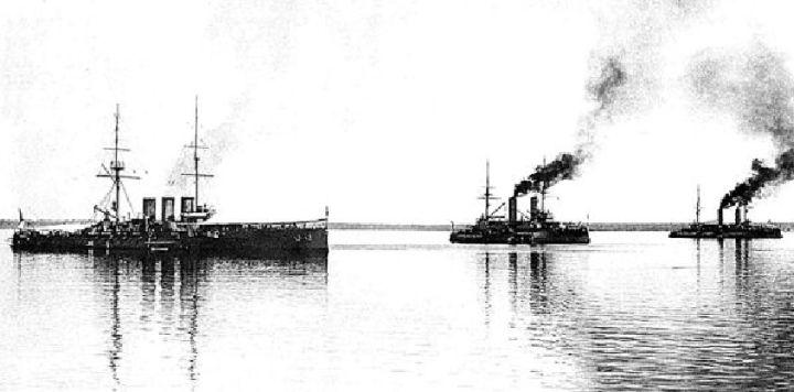 Русский флот в первую мировую войну