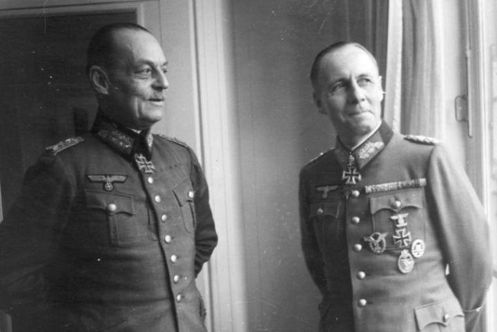 Фон Рундштедт и Роммель