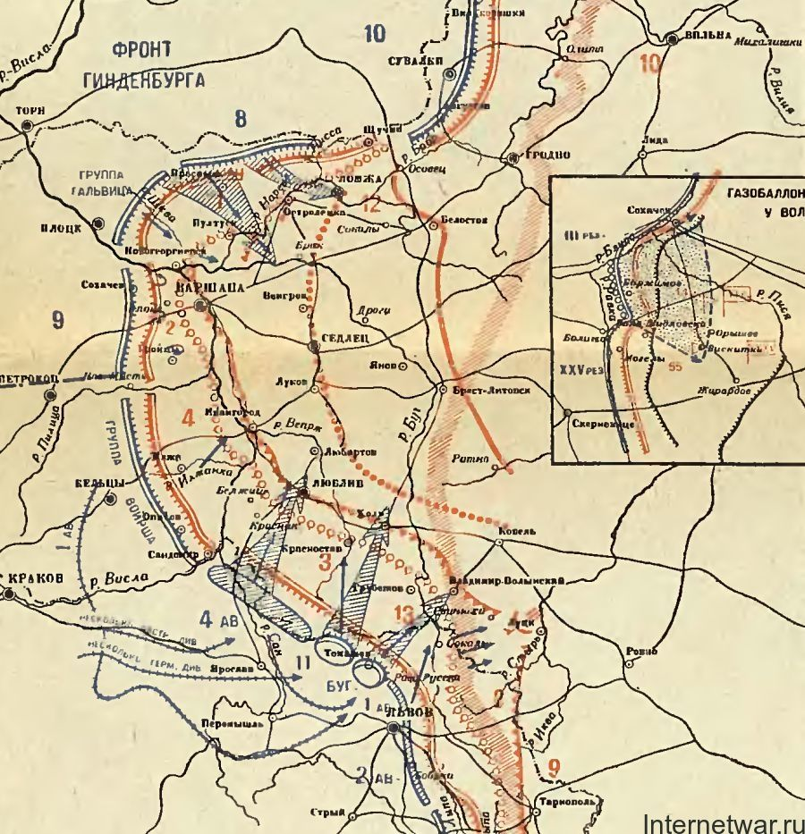 краткая хронология первой мировой войны