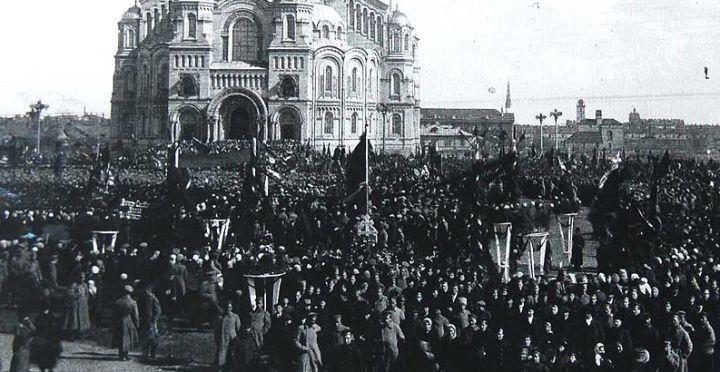 Кронштадт в 1917 году