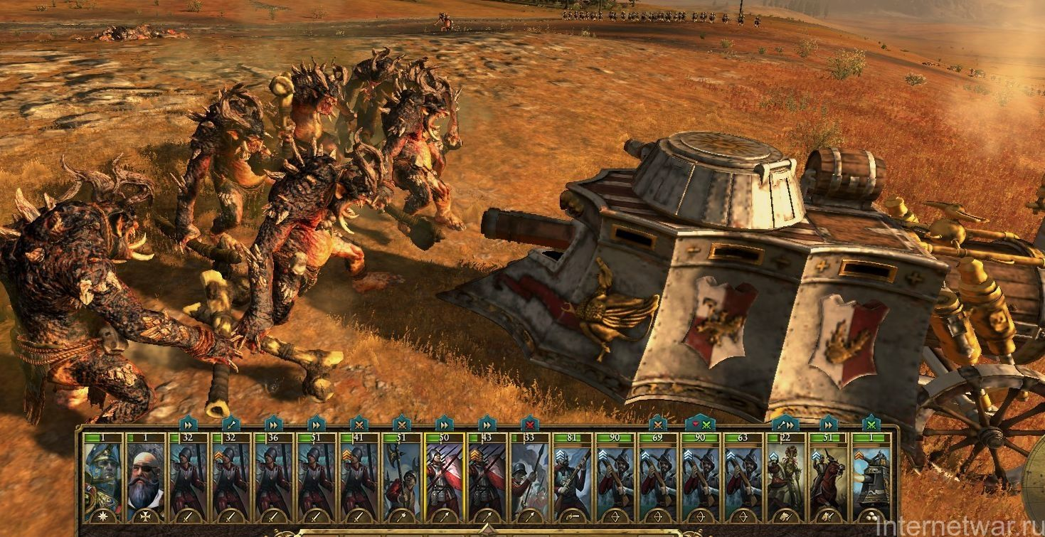 total war warhammer прохождение