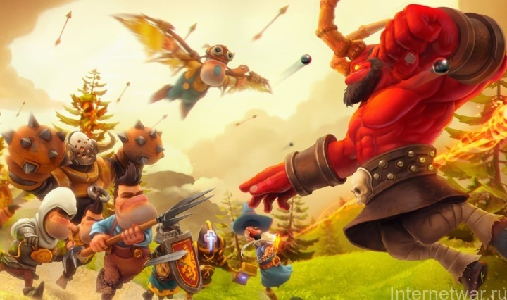 игра evil defenders