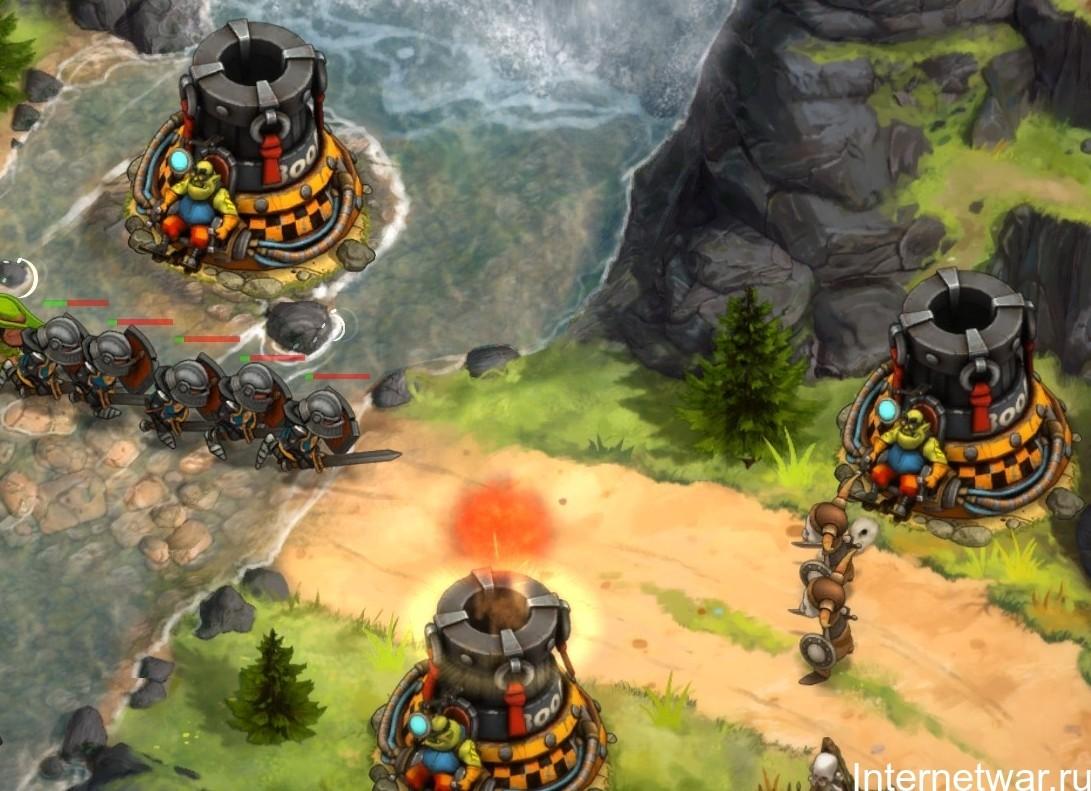 лучшие tower defence