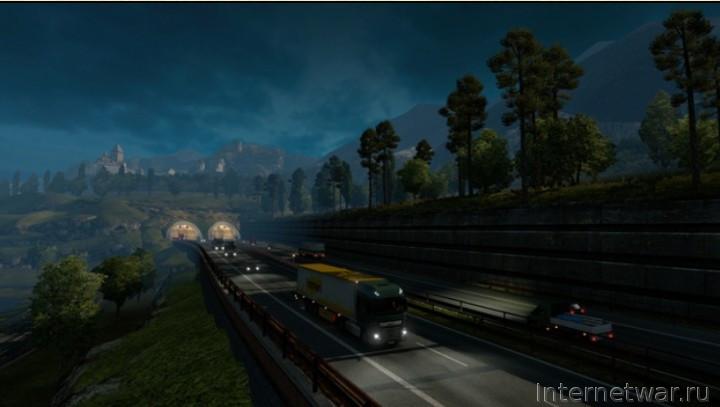 игра компьютер euro truck simulator 2