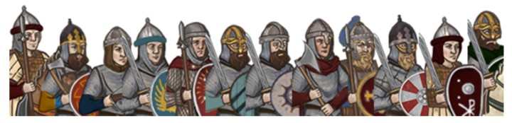 attila total war моды славяне