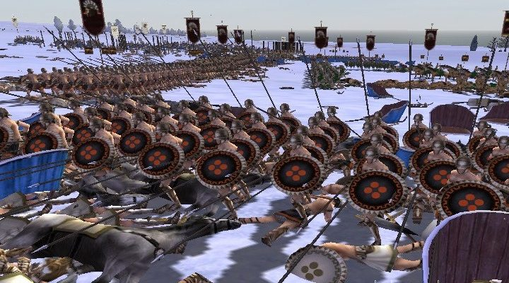 Ancient Crisis Cool Map — мод для Rome Total War