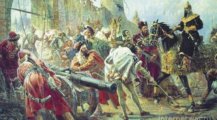 В. Волков. Войско грозного царя