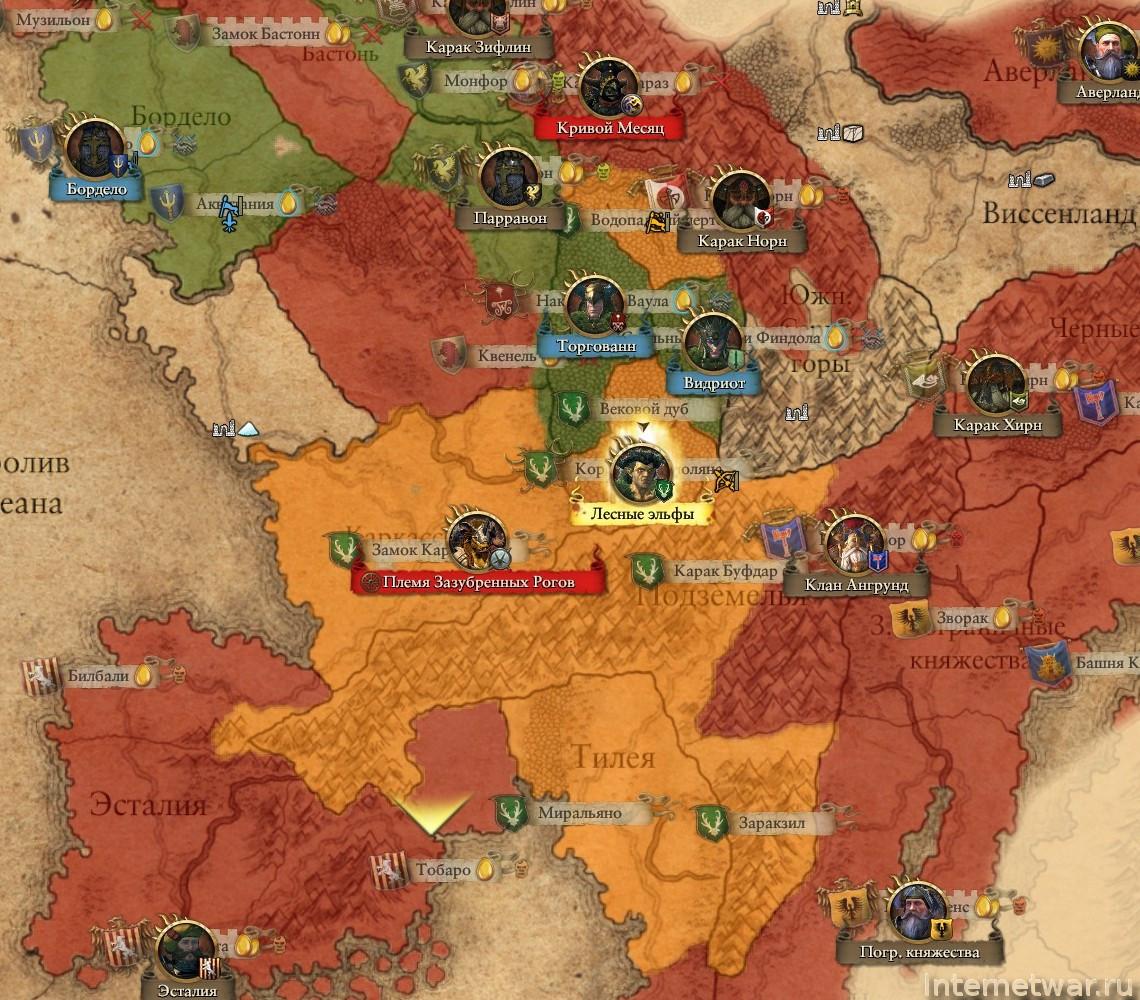 total war warhammer прохождение за эльфов