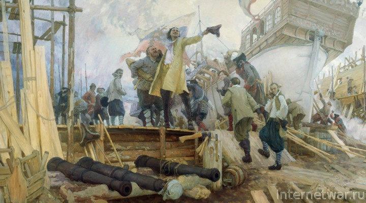 Боевое крещение Балтийского флота