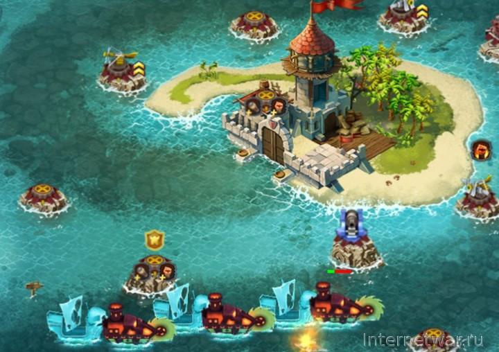 Fort Defense игра в жанре tower defense