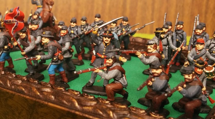 Военная миниатюра — гражданская война в США