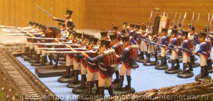 военная миниатюра, раскраска миниатюр, французская пехота, zvezda