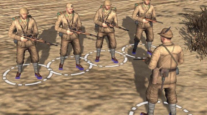 Italian Skirmish Pack — мод для В тылу врага: Штурм 2