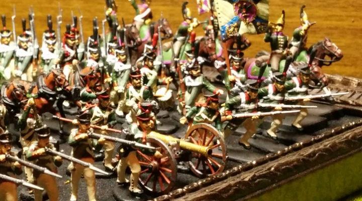 Военная миниатюра — Война 1812 года