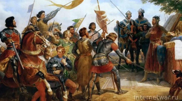 Ф. Контамин. Война в Средние века