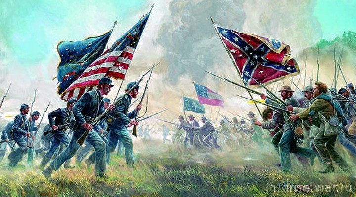 С. Бурин. На полях сражений гражданской войны в США