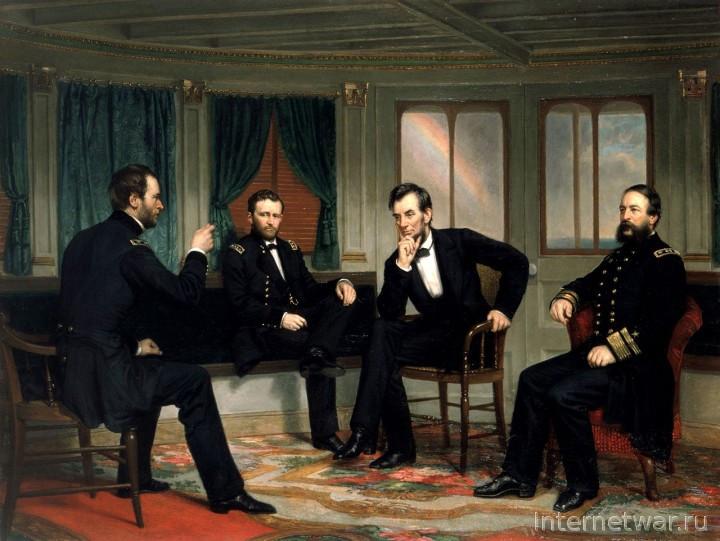 история гражданской войны в сша