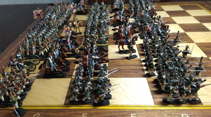 варгейм, военная миниатюра