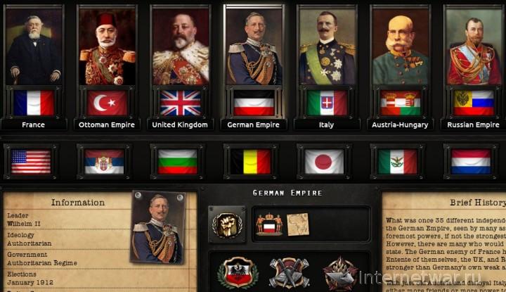 Hearts of Iron 4 мод о первой мировой войне