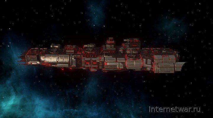 New Ship Classes — мод для Stellaris