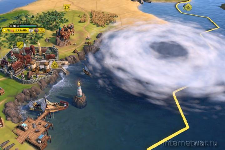 Gathering Storm аддон для цивилизации 6