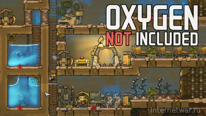 обзор игры Oxygen Not Included