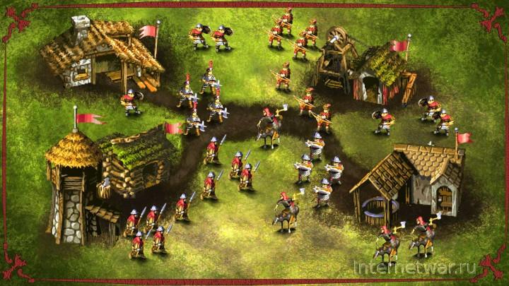 игра Knights and Merchants