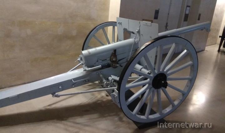 75-мм французская пушка образца 1897 г