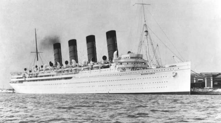 О «Титанике», «Олимпике» и розовом цвете боевых кораблей