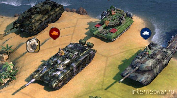 Warfare Expanded: Reloaded — мод для Civilization 6