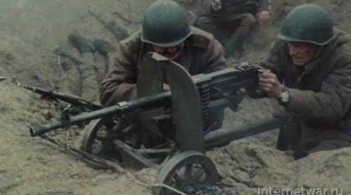 Оружие в кино. ДШК или Горюнова?