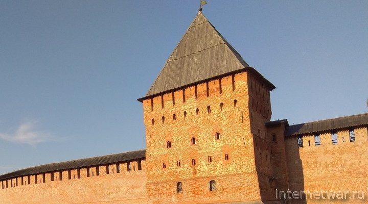 Крепости России. Новгород