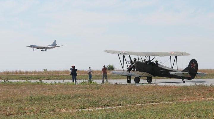 Музей дальней авиации, Энгельс. Часть 6. Летное поле