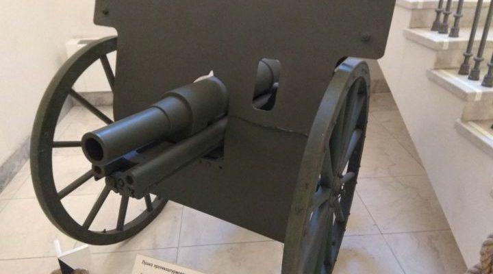 Противоштурмовая 76-мм пушка обр. 1910 г